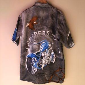 Vintage choppers mania shirt